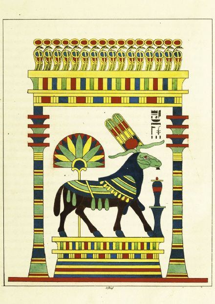The Ram, Living Emblem of Amon-ra. Ancient Egypt Print/Poster (4976)
